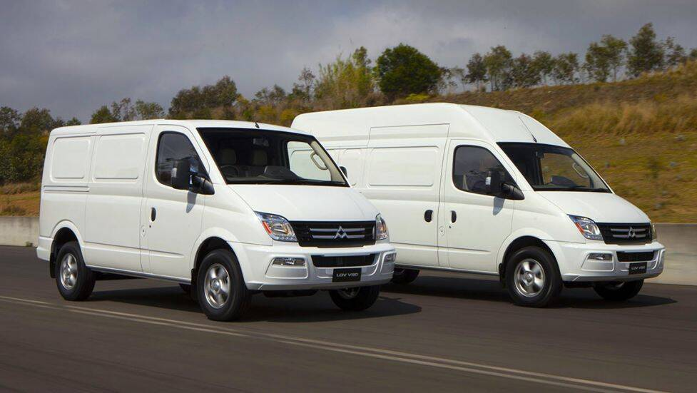 LDV vans now distributed by Ateco