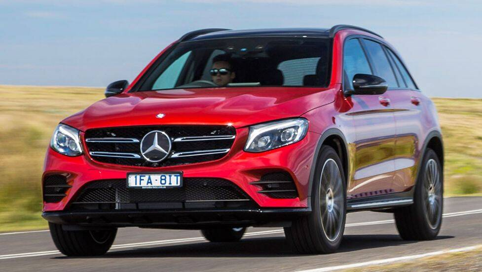 2015 mercedes benz glc suv review first drive carsguide. Black Bedroom Furniture Sets. Home Design Ideas