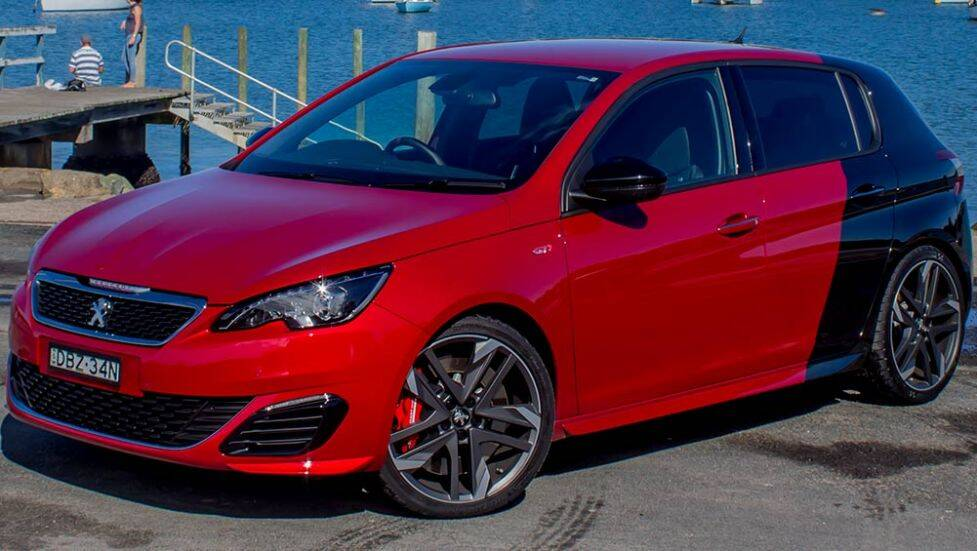 2016 peugeot 308 gti 250 review road test carsguide. Black Bedroom Furniture Sets. Home Design Ideas