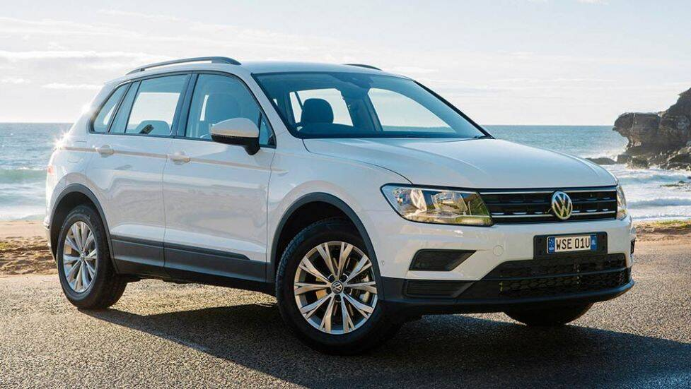 volkswagen tiguan 132tsi comfortline 2017 review snapshot carsguide. Black Bedroom Furniture Sets. Home Design Ideas