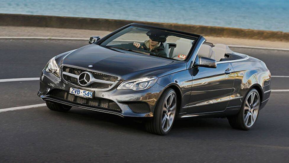 Mercedes e class coupe and cabriolet review carsguide for Mercedes benz e350 coupe convertible