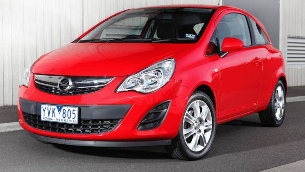 2013 opel corsa review carsguide. Black Bedroom Furniture Sets. Home Design Ideas