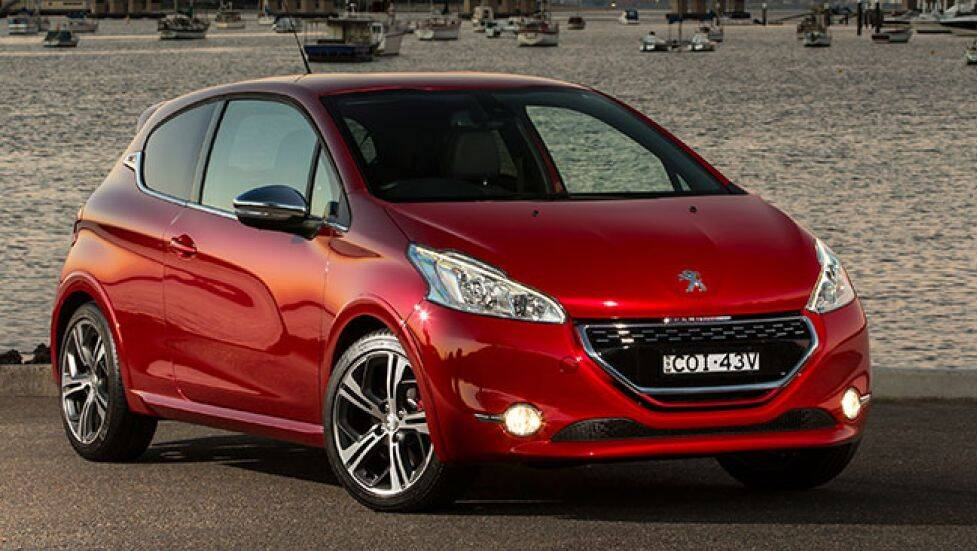 peugeot 208 gti 2013 review carsguide. Black Bedroom Furniture Sets. Home Design Ideas