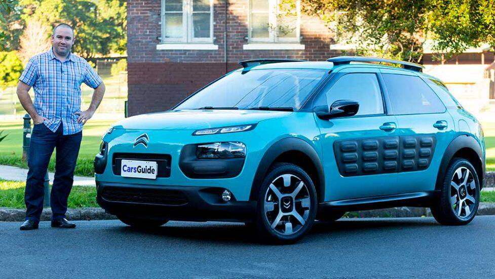 2016 citroen c4 cactus review road test carsguide. Black Bedroom Furniture Sets. Home Design Ideas