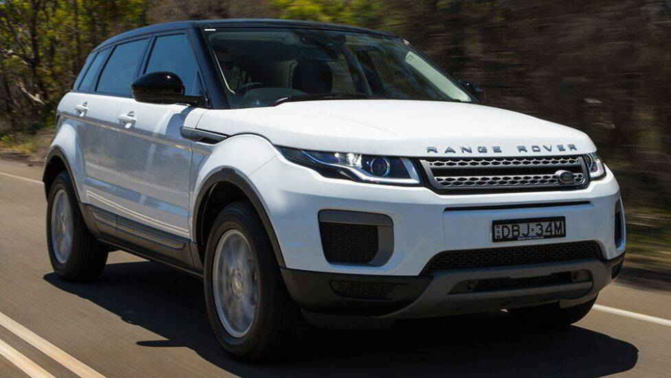 2016 land rover range rover evoque review first drive video carsguide. Black Bedroom Furniture Sets. Home Design Ideas