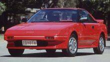 1988 Toyota MR2 coupe