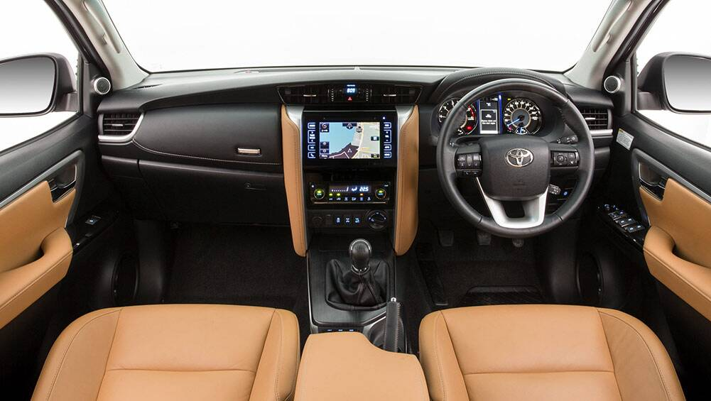 2015 Toyota Fortuner interior revealed- Car News | CarsGuide